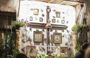 Cruces de Mayo. Pastrana.