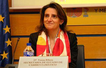 Teresa Ribera. Archivo.