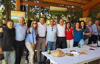 Martínez Arroyo alaba el trabajo de los profesionales de la Consejería de Agricultura, Medio Ambiente y Desarrollo Rural en el día de su patrón, San Isidro