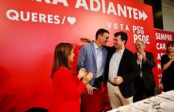 Pedro Sánchez en A Coruña.