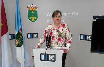 María Jesús López, portavoz del grupo municipal de Ciudadanos Hellín.
