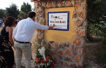 Homenaje a Miguel Ángel Blanco en Ciudad Real.