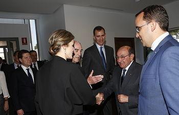 Globalcaja, con Felipe VI y Doña Letizia