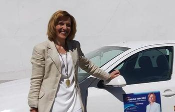 Cándida Tercero Candidata por el PP a la Alcaldía de Valdepeñas