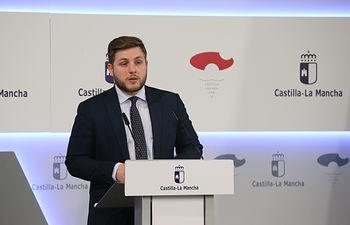 Nacho Hernando, portavoz del Gobierno de Castilla-La Mancha.