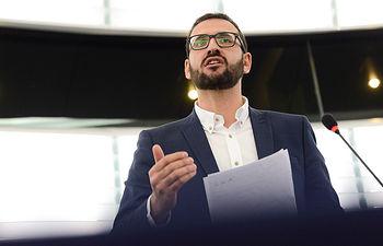 Sergio Gutiérrez, eurodiputado socialista.