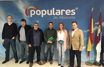 Reunión mantenida con los representantes sindicales de Acaip-Ugt, CCOO y CSIF en la prisión de La Torrecica.