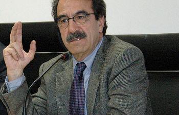 Emilio Ontiveros impartió en el Campus de Albacete una conferencia sobre la crisis económica