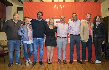 Acto PSOE Guadalajara en Cifuentes.