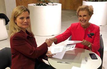 CMN y AFAMMER firman un convenio para impulsar y dar visibilidad a las mujeres rurales y empresarias y poner en valor el talento femenino