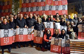 Pegada de Carteles del PSOE de Cuenca