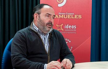 Carlos Pedrosa, secretario regional de UGT en Castilla-La Mancha.