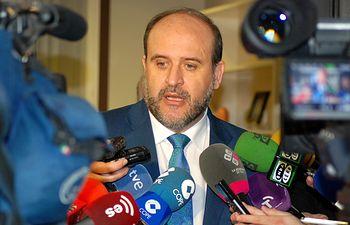 Vicepresidente, declaraciones sobre el Hospital de Albacete. Foto: JCCM.