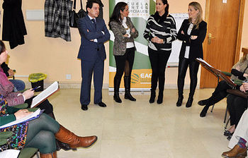 """Rosa Romero: """"El pasado mes de enero se crearon en la capital 29 nuevas empresas, un 60% más que en enero de 2013"""""""