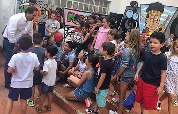 Cerca de 400 niños han pasado por la Escuela de Calor del Centro Joven
