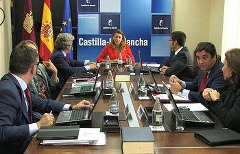 Consejo de Gobierno celebrado en Albacete