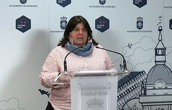 Prado Galán, concejala de Unidas Podemos.