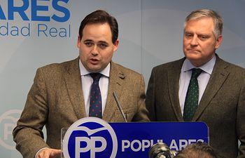 Paco Núñez preside el Comité de Dirección del PP de Ciudad Real. Foto: PP CLM.