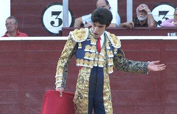 Alejandro Talavante, el pasado día 13 de septiembre, en la Feria Taurina de Albacete.