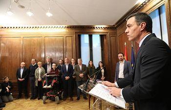 Presentación del programa de Gobierno del PSOE y Unidas Podemos, en el Congreso. Foto: @PSOE
