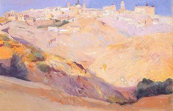 Vista de Toledo, 1912