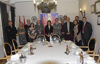 El Club Rotario de Ciudad Real y Pilar Zamora apuestan por el desarrollo de la capital