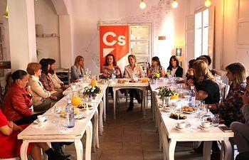 Encuentro con mujeres rurales en Guadalajara.