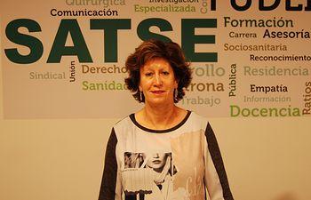 Rosa Cortijo Santos Miembro del Comité Ejecutivo Autonómico SATSE Castilla-La Mancha