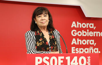 Cristina Narbona, presidenta del PSOE. . Foto: Inma Mesa Cabello
