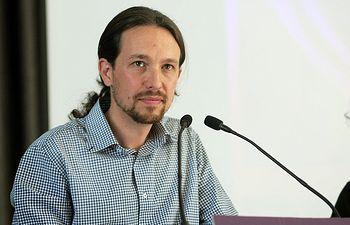 Pablo Iglesias, dirigente de Podemos.