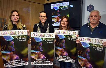 """""""Las Virtudes"""" serán las pregoneras del Carnaval de Ciudad Real 2020"""