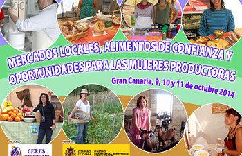 CERES impulsa los canales cortos de comercialización como yacimiento de empleo para las mujeres del medio rural.. Foto: COAG.