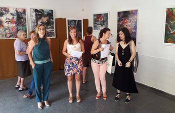 Foto JCCM Albacete- Exposición Creatividad y Sororidad