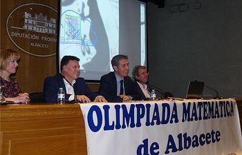 La Diputación acoge la clausura y entrega de premios de la XXVII Olimpiada Matemática
