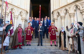 Devolución Pendón Alfonso VIII.