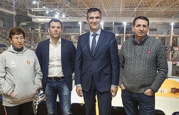 Presentación del Campeonato Nacional Base Individual y Copa de España Masculina de Gimnasia Rítmica