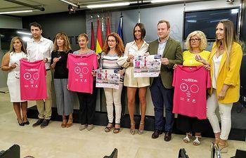 Presentación carrera solidaria de AMAC, 'Memorial María José Merlos'.
