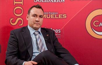"""Alberto Sacristán, director técnico de la Fundación del Consejo Regulador de la Denominación de Origen """"Miel de la Alcarria""""."""