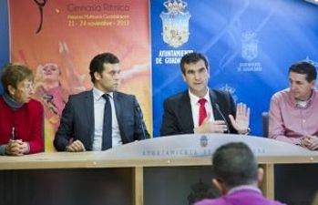 Presentación del Campeonato de España de Gimnasia Rítmica
