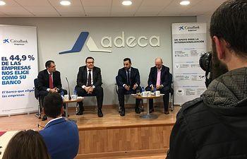 Primer 'Desayuno Empresarial' ADECA de 2017.
