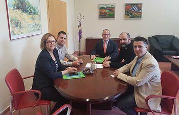 Contigo Albacete presenta su proyecto industrial a la Universidad de Castilla-La Mancha
