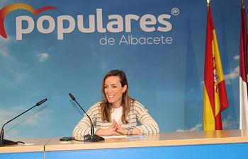 Carmen Navarro, diputada nacional del PP por Albacete.