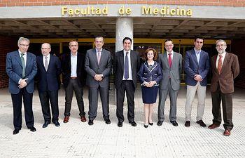 Echániz reunión Universidad de Alcalá de Henares. Foto: JCCM.