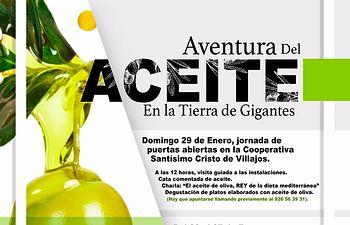 Cartel Aventura del Aceite.