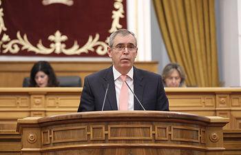 Vicente Aroca, diputado regional del Grupo Parlamentario Popular en las Cortes de Castilla-La Mancha. Foto: CARMEN TOLDOS