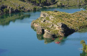 Lago de Bolarque. Almonacid de Zorita.