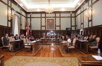 El Pleno de la Diputación Guadalajara.