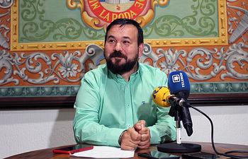 Juan Ramón Amores, alcalde de La Roda.