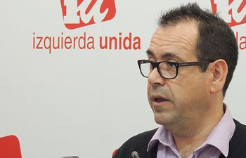 Juan Ramón Crespo, Coordinador Regional de IU CLM.