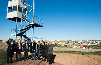 La delegación española del EPP visita la valla de Melilla